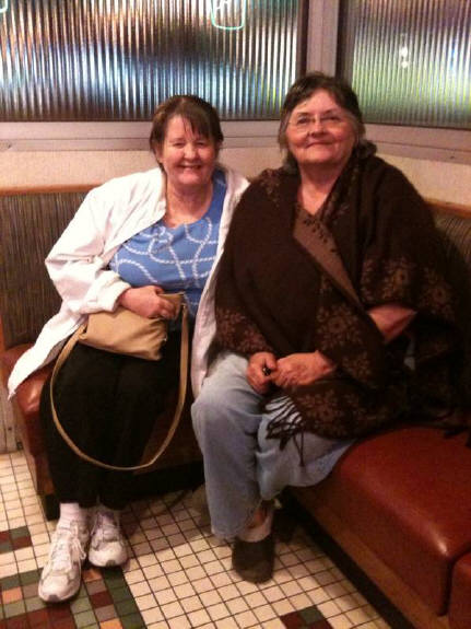 Mary & Carolyn have traveled from Oklahoma just to eat at Iggy's Diner over 20+ weeks in a row.  Congratulations !