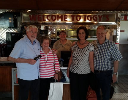 Thanks for coming by  Ken & Ann Turner  Keith & Shelley Ressis  from South Africa !