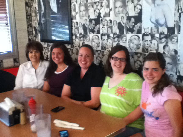 All these wonderful ladies here to eat are helping Joplin get   back on its feet !!