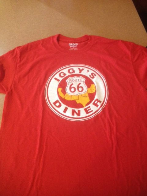 Iggy's T-Shirt red/front