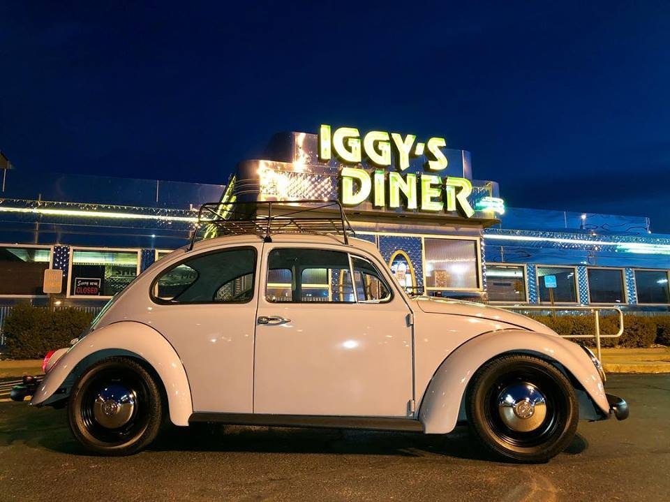 VW at iggy's diner